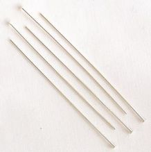 "Sterling Silver 2"" (50mm) Headpin - 10"